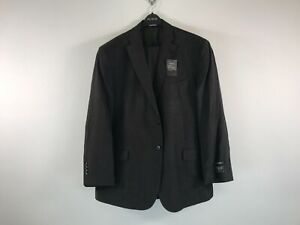 Men's Jos. A. Bank Tailored Natural Stretch Suit Set, Size 50 - Brown