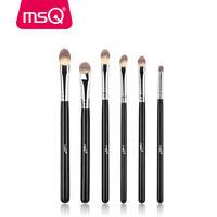 MSQ 6Pcs Lip Eyeshadow Makeup Brushes Set Powder Foundation Eye Make up Brush