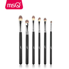 MSQ 6Pcs Lip Eyeshadow Makeup Brushes Set Powder Foundation Eye Make up Brush