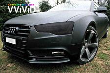 "New 1ft x 60"" Black matte headlight taillight pvc film cover overlay wrap tint"