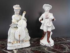 statuettes porcelaine renaissance XIXème CERAMIC by PN