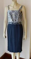 Great Plains London Multi / Black Pleated Dress size M new with tag #52