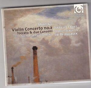 MARTINU: VIOLIN CONCERTO NO. 2; TOCCATA & DUE CANZONI NEW CD