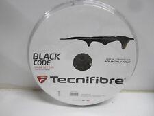 **NEW** TECNIFIBRE BLACK CODE (16g / 1.28) 200M/660FT STRING REEL BLACK