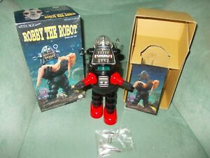 ROBBY ROBOT OSAKA TIN TOY LIMITED EDITION ETAT NEUF BOITE JOUET ANCIEN VINTAGE