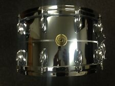 Gretsch USA Custom G4182 8x14 Chrome over Brass 20 Lug Snare w/ Die Cast Hoops