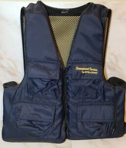 Stearns Life Vest Fishing Tournament Series Blue Pockets Flotation Aid Adult xxl