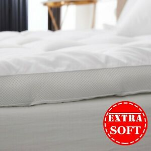 New Microfiber Mattress Topper Ultra Soft Air Flow Mattress Luxury Hotel Quality