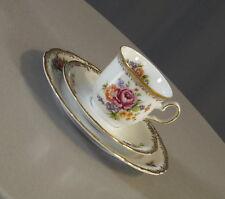 Fürstenberg Porzellan Kaffee Gedeck Sammelgedeck florales Dekor Vintage 60er J.