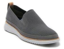 Cole Haan Men's 2.Zerogrand Stitchlite Slip On Knit Sneaker C29307 Grey Mesh NEW