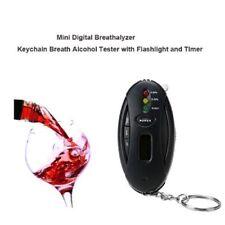 Alcool testeur détecteur éthylotest Mini Souffle Alcool Testeur Key Chain