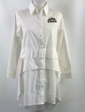 Kenzo White Tunic Long Sleeve Size Medium