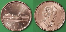 2011 Canada Loon Dollar From Mint Roll