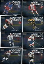 2019-20 O-PEE-CHEE PLATINUM THRILLING FINISHES 8 CARD LOT