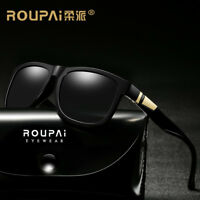Polarized Sunglasses Mens Style Square Vintage Sports Driving Glasses Eyewear