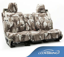 NEW Full Printed Traditional Sand Camo Camouflage Seat Covers / 5102045-12