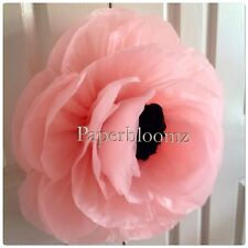 Paperbloomz Large Paper Peonies x 5 Bulk Tissue Paper Flowers Wall Decorations