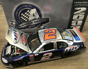 RUSTY WALLACE 2003 VICTORY LAP / MILLER LITE 1/24 ACTION DIECAST BANK CAR 1/420