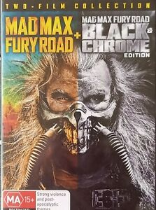 Mad Max Fury Road + Black Chrome Edition 2 DVD Set