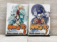 Naruto Manga Vol. 6 & 7 English Shonen Jump Graphic Novels
