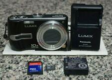 Panasonic Lumix DMC-TZ3 7.2MP Camera 10x Leica W/ Charger, Battery, 4GB SD FR/SH