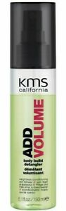 KMS California Add Volume Body Build Detangler 150ml New!