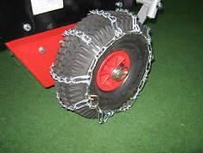Schneeketten passend für HERKULES Kehrmaschine KM1000B, KM1000K, KM1000HW 4.00-4