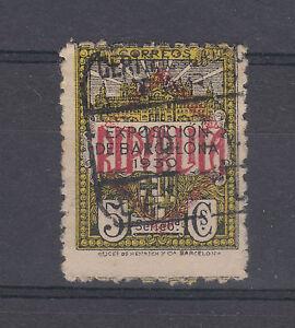 CRSEJ 0452  barcelona ne-3 numeraracion g-47993 matasellada