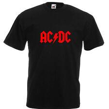 AC DC T-Shirt Kult Mottoshirt Funshirt Party Geschenk
