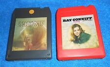 Lot of 2 Ray Conniff  8-Track Tapes - Untested