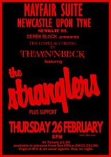 """Reproduction Alternate """"The Stranglers - Newcastle"""" Poster, Punk, Size A2"""