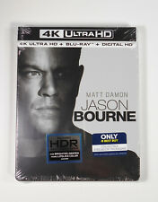 JASON BOURNE (2016)  Best Buy 4K Collectible (ONE film) Steelbook Factory Sealed