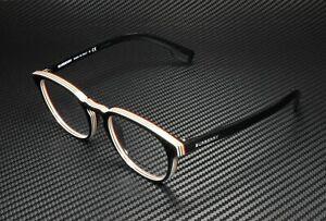 BURBERRY BE2293 3798 Check Multilayer Black Demo Lens 51 mm Mens Eyeglasses
