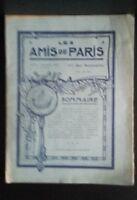 Revista Dibujada Las Amis De París N º 15 Mensual 1912 Gerente Claude Simond ABE