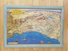 New ListingRide the Roads to Romance along the Golden Coast Vintage Original Map