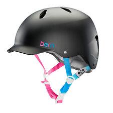 Bern Bandita Satin lila Girls Fahrradhelm BMX Basecap Style Helm 51 5-54cm