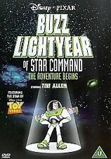 Buzz Lightyear Of Star Command. Toy Story spin-off (DVD, 2001)