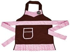 Cricut Cake Apron Child Size Pink Brown Provo Craft and Novelty New In Package