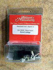 Valiant Miniature 54mm Hobby Kit# 9505 - Dance Hall Girl Seated - Resin
