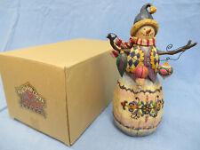 Enesco Jim Shore Heartwood Creek Winter's Tradition Snowman/Ornaments 112252 200