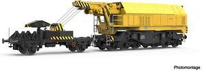 ROCO DCC 73035 Slewing railway crane for digital operation, DB Sound
