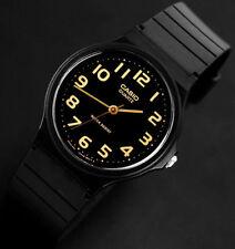 Reloj Nuevo Casio MQ-24-1B2 Hombres Análoga Negro Resina