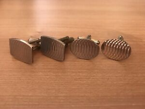 2 Pairs Of Vintage Cuff Links