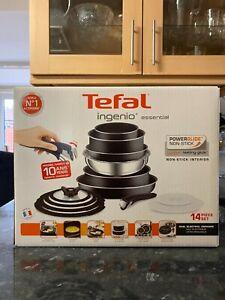 Tefal L2009542 Ingenio Essential Non-stick Pots and Pans Set - 14 Piece