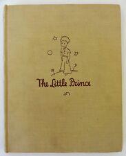 The Little Prince by Antoine De Saint-Exxupery – HC – 1943 – First Edition