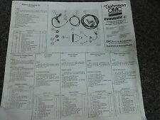 1984 Johnson 9.9 15 25 35 & Evinrude RC Battery Charging Kit Installation Manual
