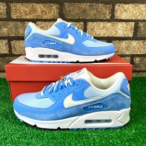💙 Nike Air Max 90 SE (DA8709-400) 'First Use' Baby Blue/White Wmns Sneakers 💙