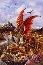 FIRE DRAGON - BRIAR GREETING CARD