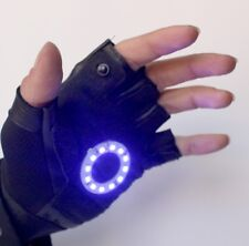 Led Iron man glove , Color led: White Right Hand