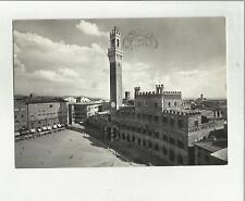 131134 SIENA PIAZZA DEL CAMPO 1955